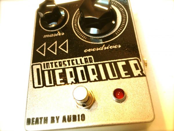 Death By Audio   Interstellar Overdriver w/Master Volume