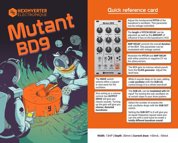 Hexinverter Électronique MUTANT BD9