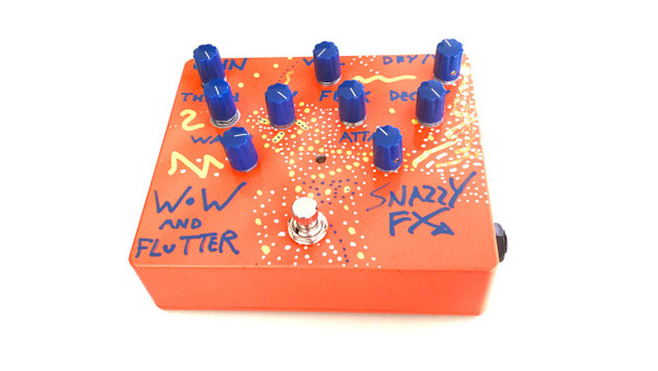 SNAZZY FX WOW AND FLUTTER 2016 HAND-MADE LIMITED EDITION(7 OF 15)SOLD!