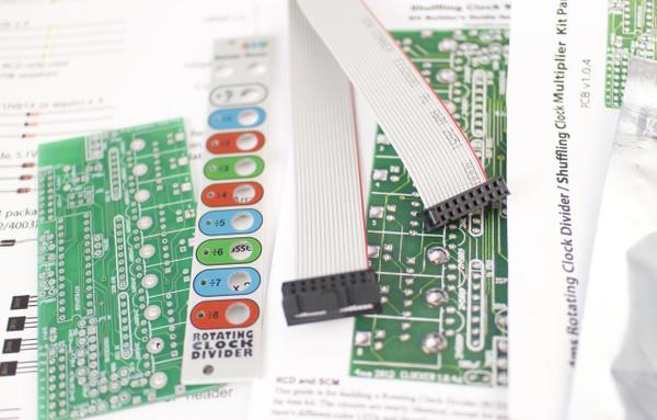 4MS Rotating Clock Divider (RCD Kit)