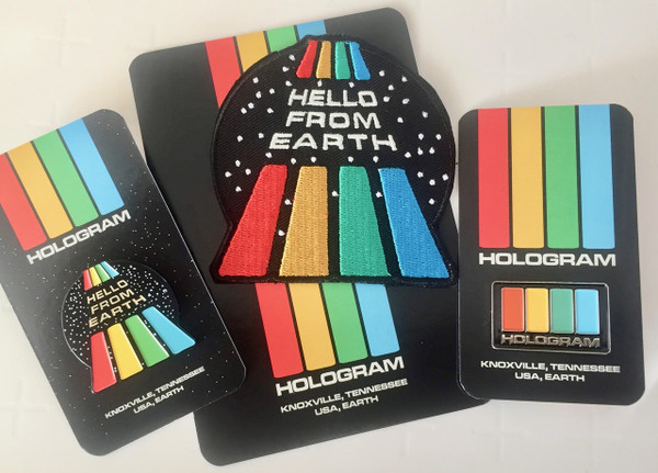 HOLOGRAM Original Patch + 2Pins
