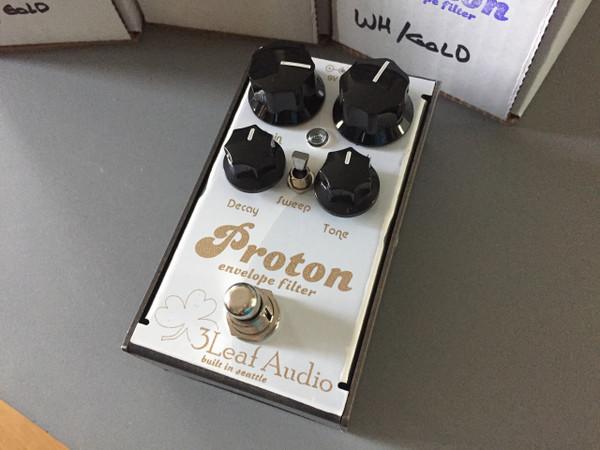 3Leaf Audio Proton Envelope Filter V3 Limited Run Gold over White
