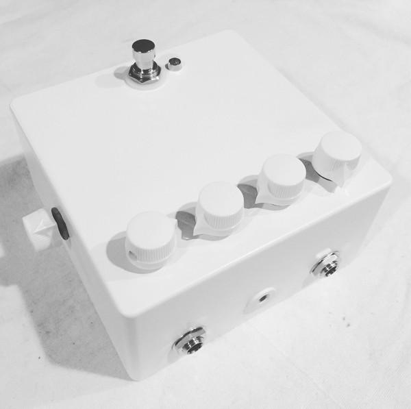 Jext Telez   White Pedal V1 Fuzz Overdrive MRB (2018 Limited Run)