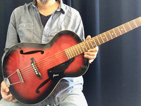 Vintage Framus 5/51 Studio Archtop Parlor Guitar RED SUNBURST SOLD