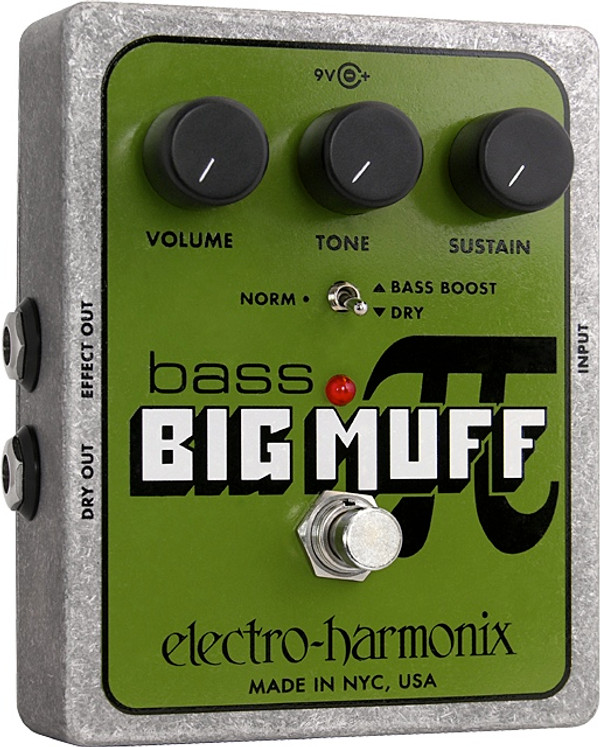 Electro Harmonix    Bass Big Muff Pi Distortion Sustainer