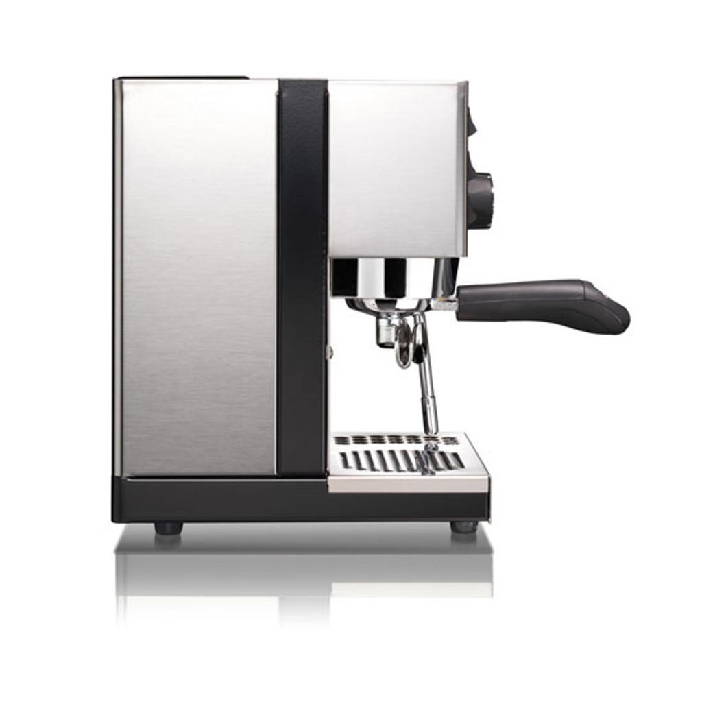 Rancilio Silvia Espresso Machine Kit (Espresso Machine, Grinder & Base) - 4