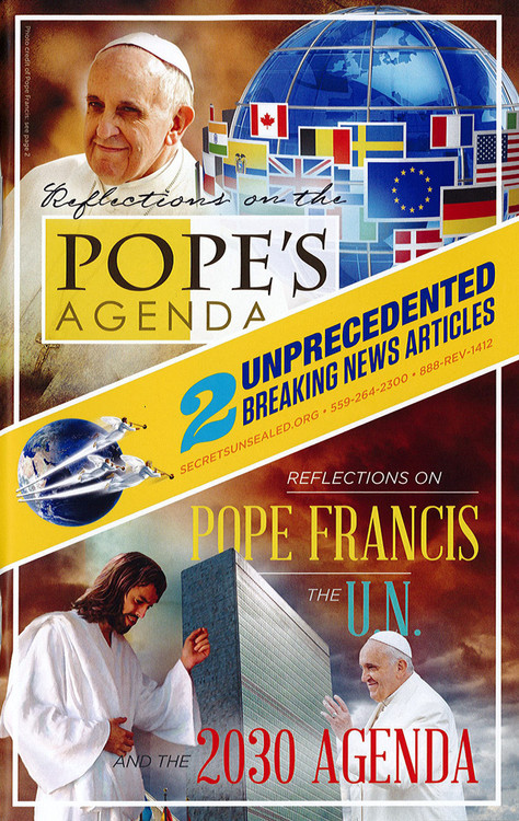 Two Articles: Reflections on the Pope's Agenda - and - Reflections on Pope Francis, The U.N., and the 2030 Agenda