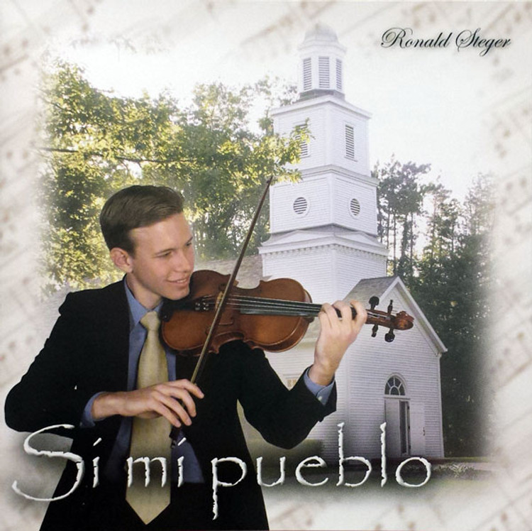 Ronald Steger, Si Mi Pueblo - Music CD