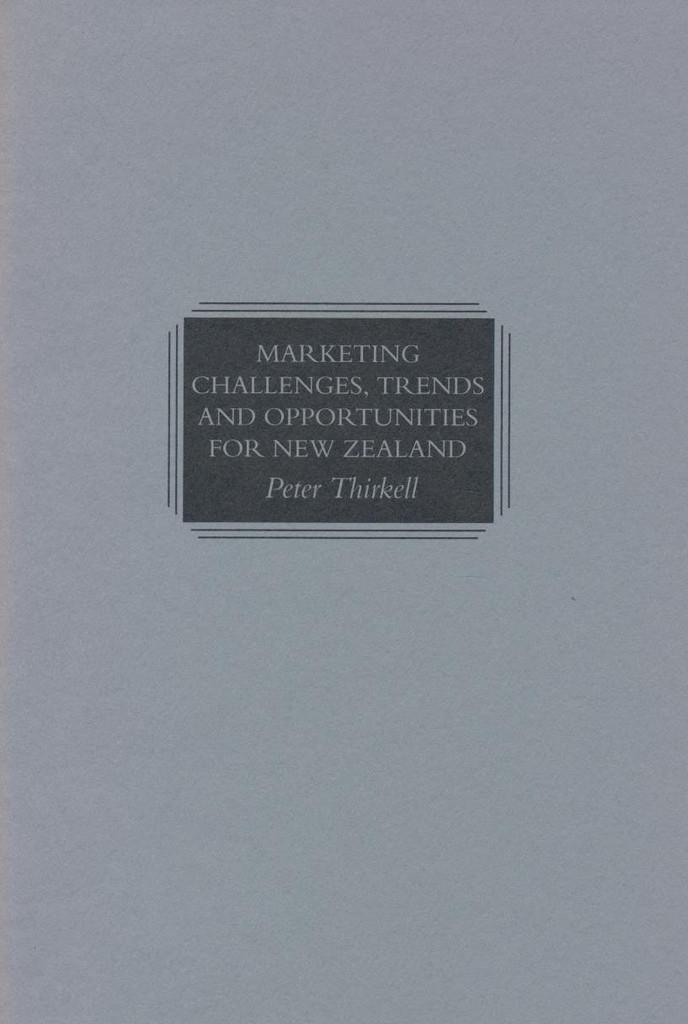 Marketing Challenges, Trends...