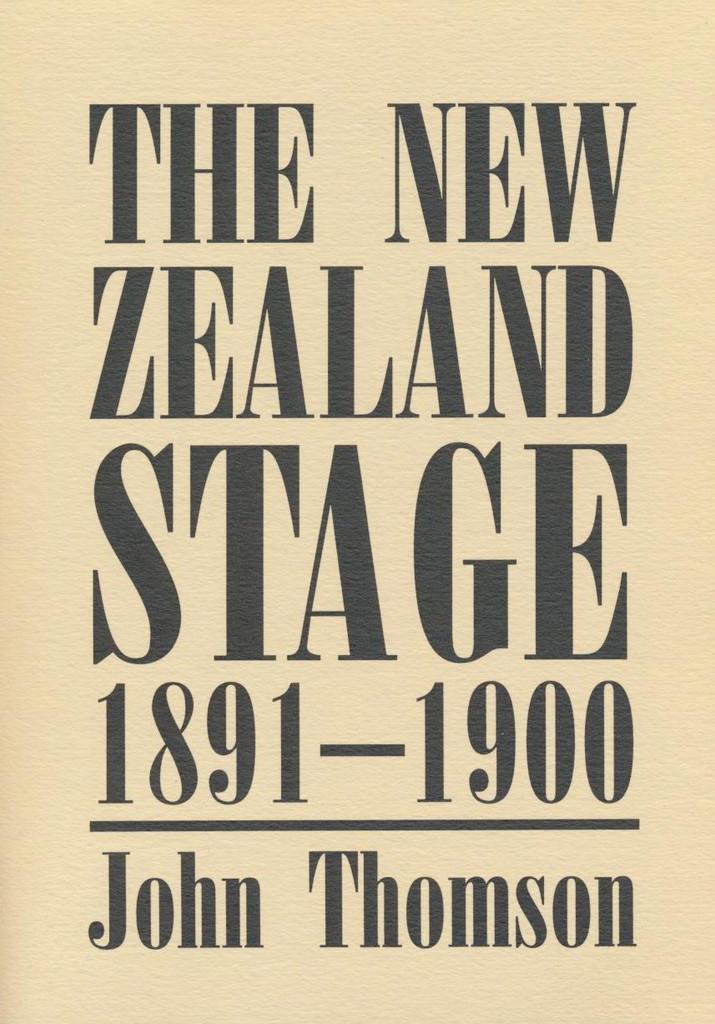 New Zealand Stage 1891-1900