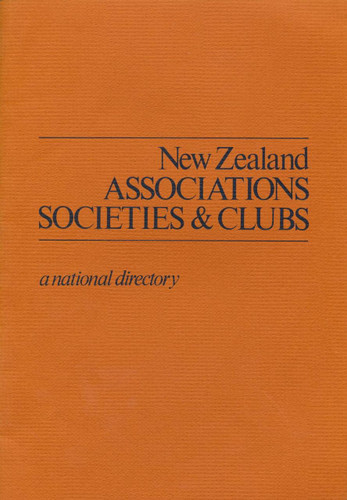 New Zealand Associations, Societies & Clubs