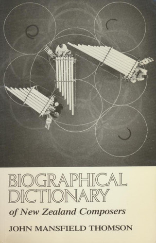Biographical Dictionary of New Zealand Composers