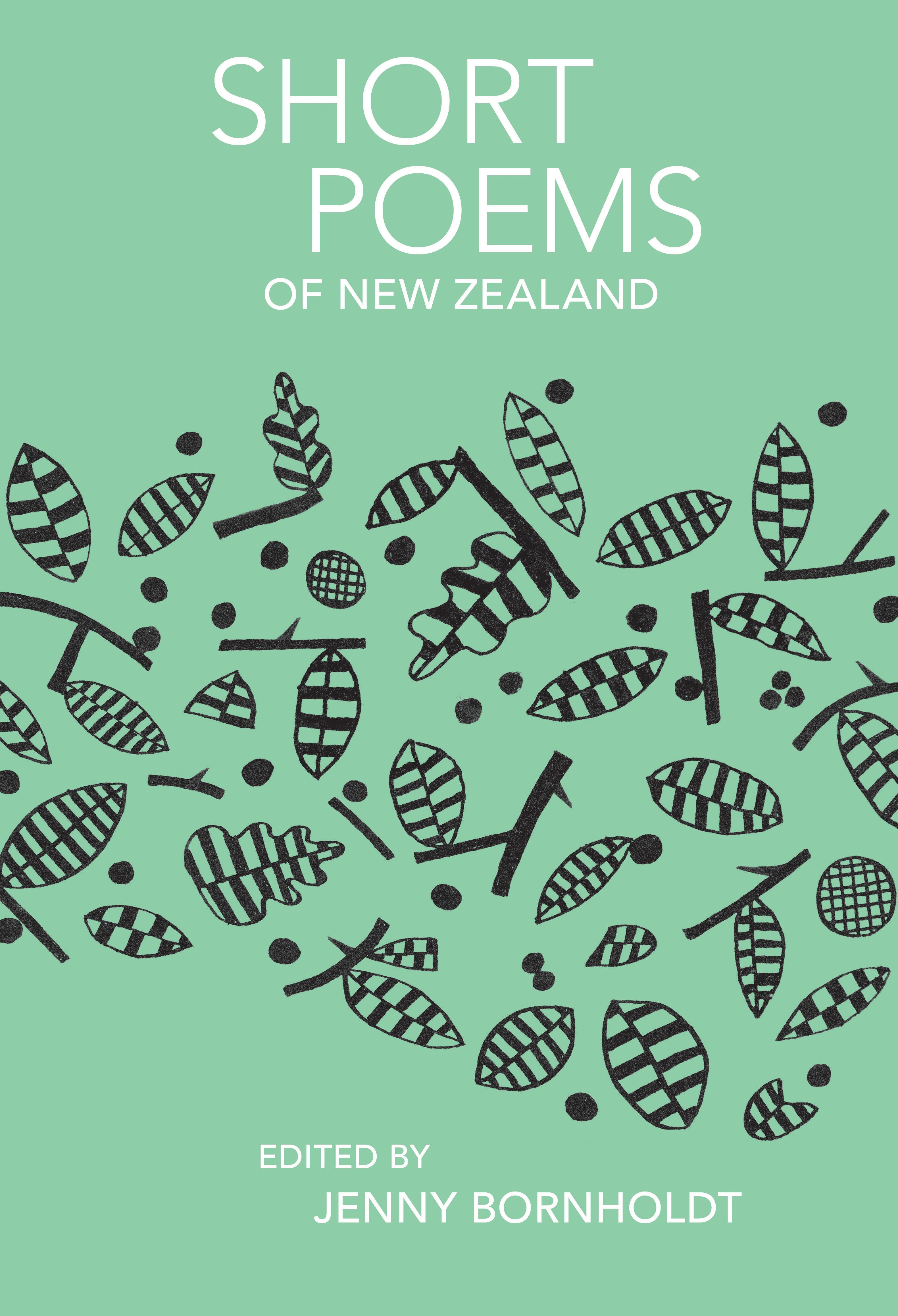 Short Poems Of New Zealand Victoria University Press border=
