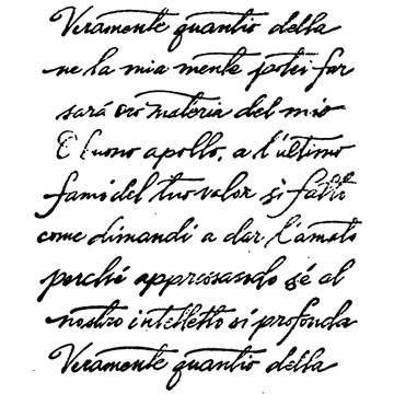 """Italian Poetry translation (from Dante) reads: """"Nevertheless, as much as I, within my mind, could treasure of the holy kingdom shall now become the matter of my song. O good Apollo, for this final task make me the vessel of your excellence, what you, to merit your loved laurel, ask."""""""