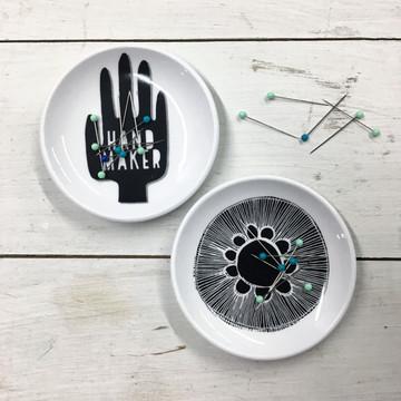 Hand Maker Magnetic Pin Dish Set