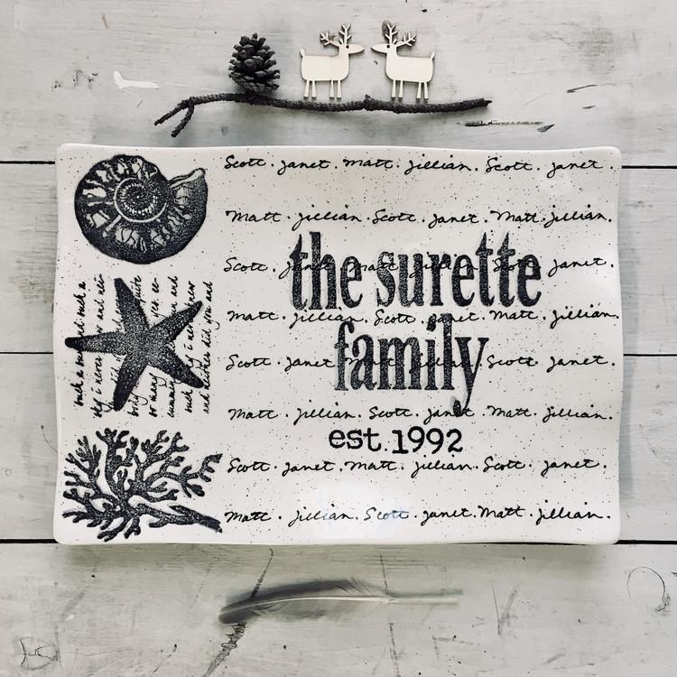 Coastal Family Name Flare
