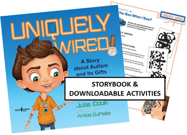 Bundle - Uniquely Wired storybook and downloadable activities