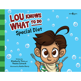 Lou Knows What To Do: Special Diet by Kimberly Tice and Venita Litvack Item #60-001