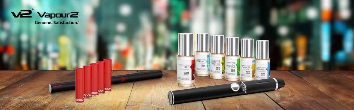 E-cigarettes and e liquids by V2