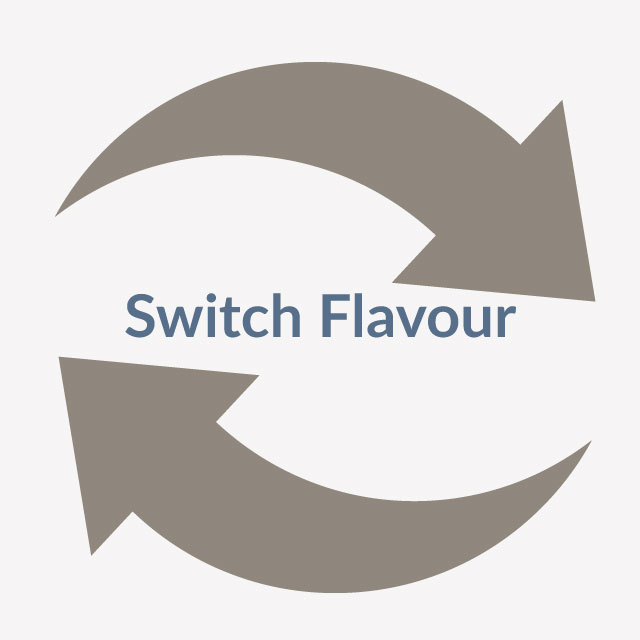 vaping beginner tip to switch flavour