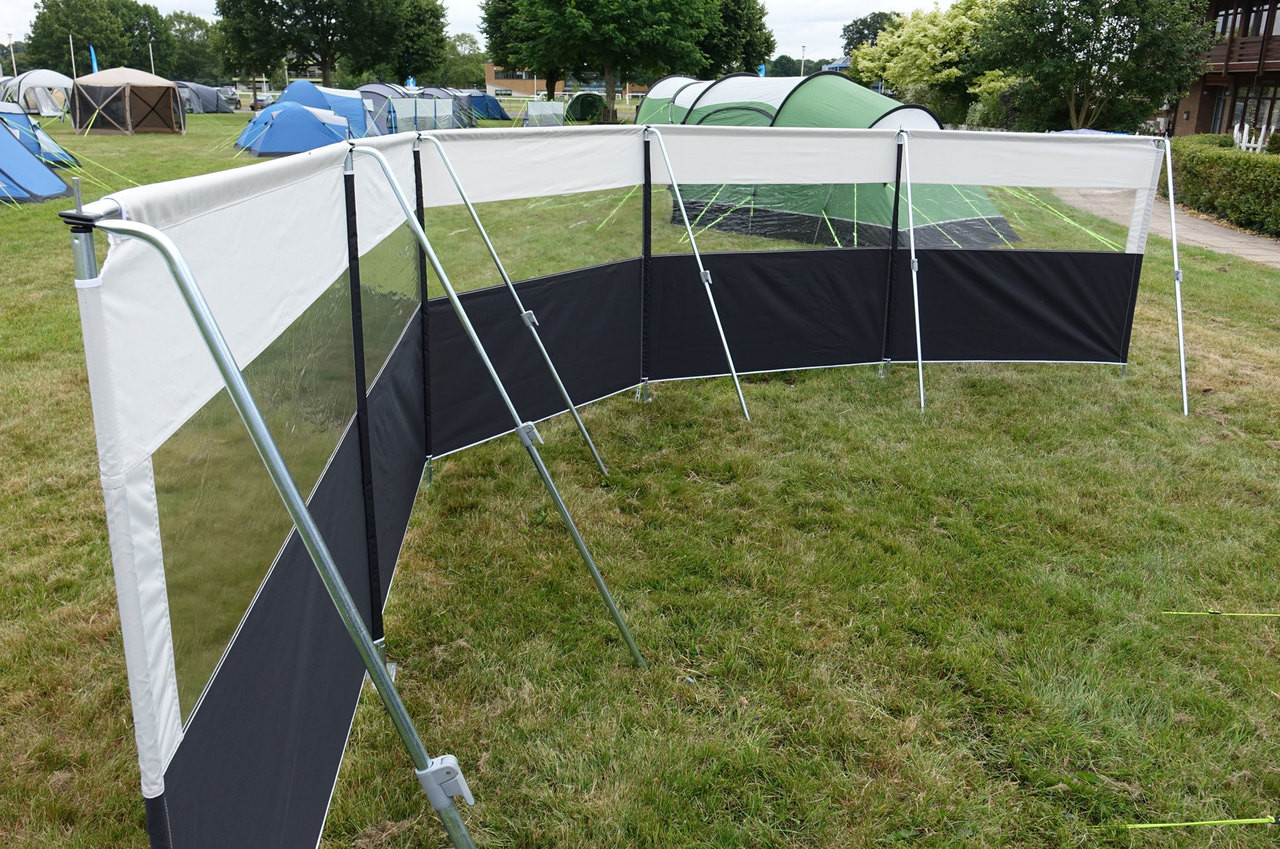 Kampa Pro Windbreak 5 Panel From Camperite Leisure