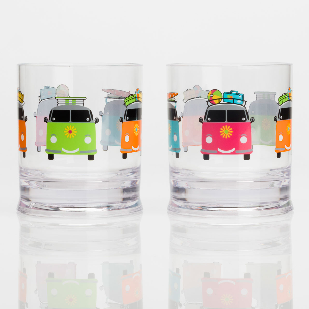Twin Pack Camper Smiles Tumblers