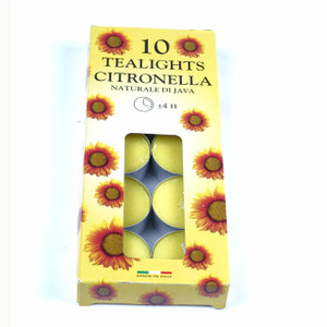 Citronella Tea-lights x 10