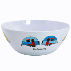 Love Caravanning Large Bowl