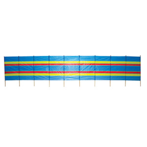 10 Pole Tall Beach Windbreak