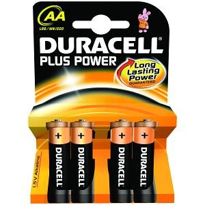 Duracell 'AA' Battery x4