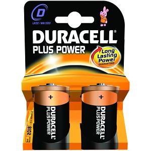 Duracell 'D' Battery x2