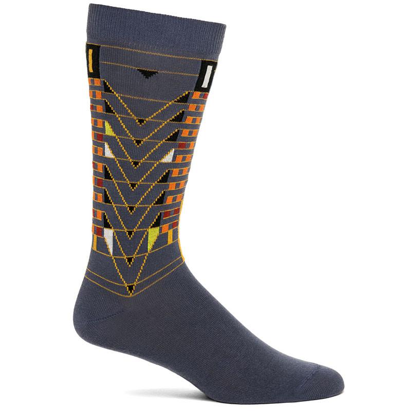 Frank Lloyd Wright Tree of Life Men's Socks - Grey