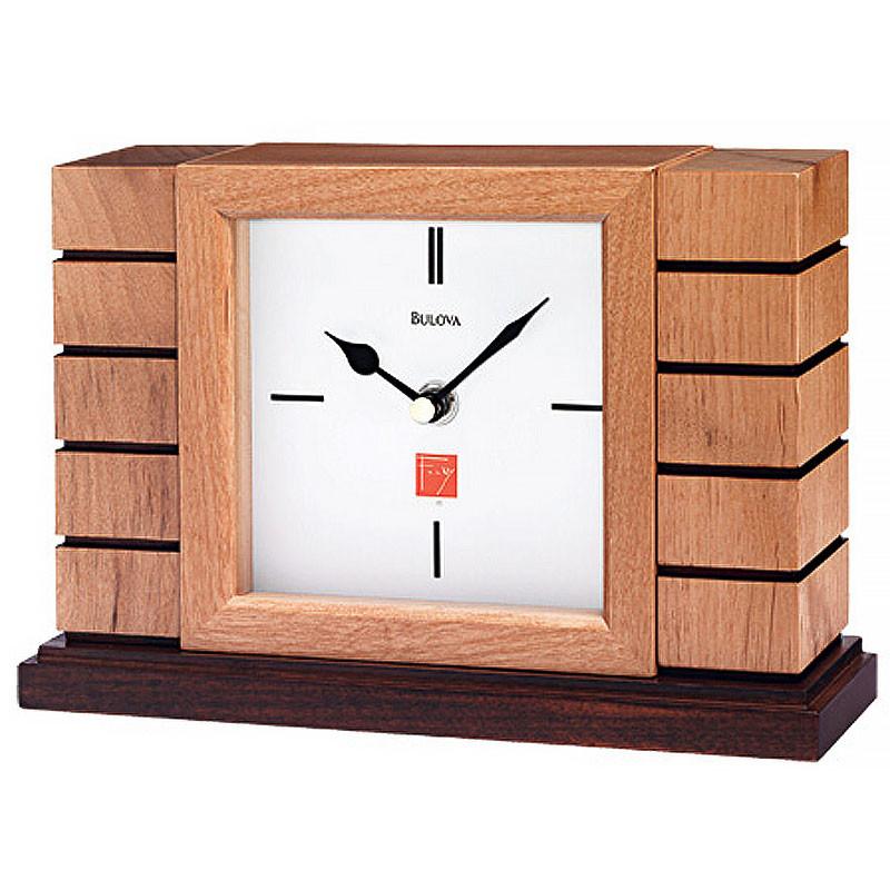 Frank Lloyd Wright Usonian II Mantel Clock