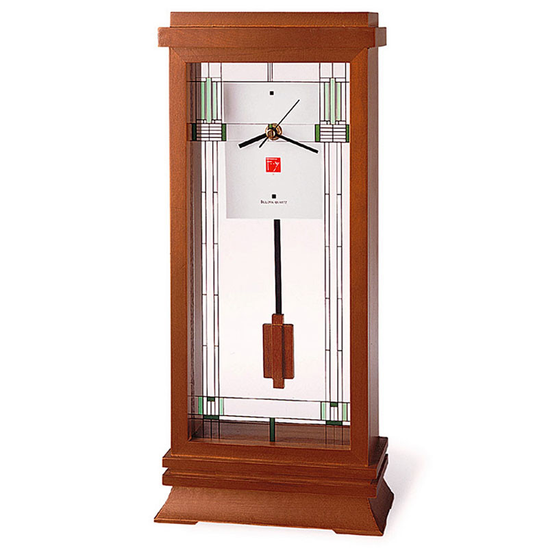 Frank Lloyd Wright Willits Mantel Clock
