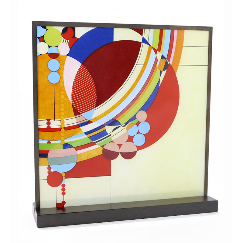 Frank Lloyd Wright March Balloons Stained Glass