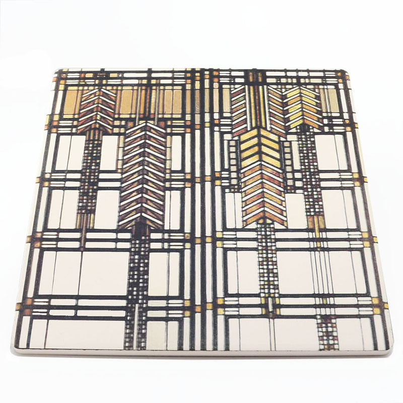 Frank Lloyd Wright Dana-Thomas House Sandstone Trivet