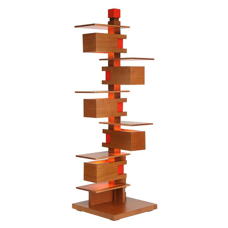 Frank Lloyd Wright Taliesin 3 Table Lamp - Cherry