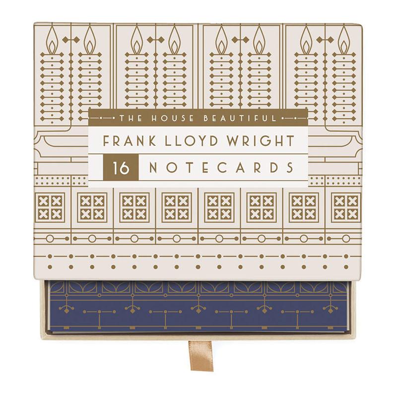 Frank Lloyd Wright House Beautiful Greeting Notecards Assortment Box