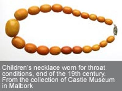 Amber Teething Necklace an Age-Old Tradition