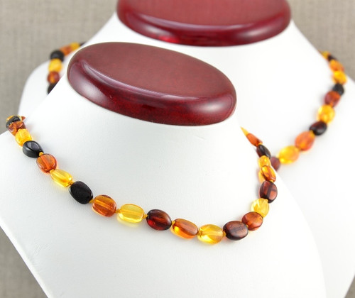 Amber teething necklace  for mom and baby