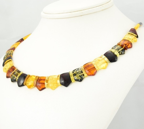 Cleopatra Baltic Amber Necklace