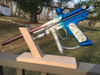 Grandstand Paintball - Marker Display Stand - Red Oak