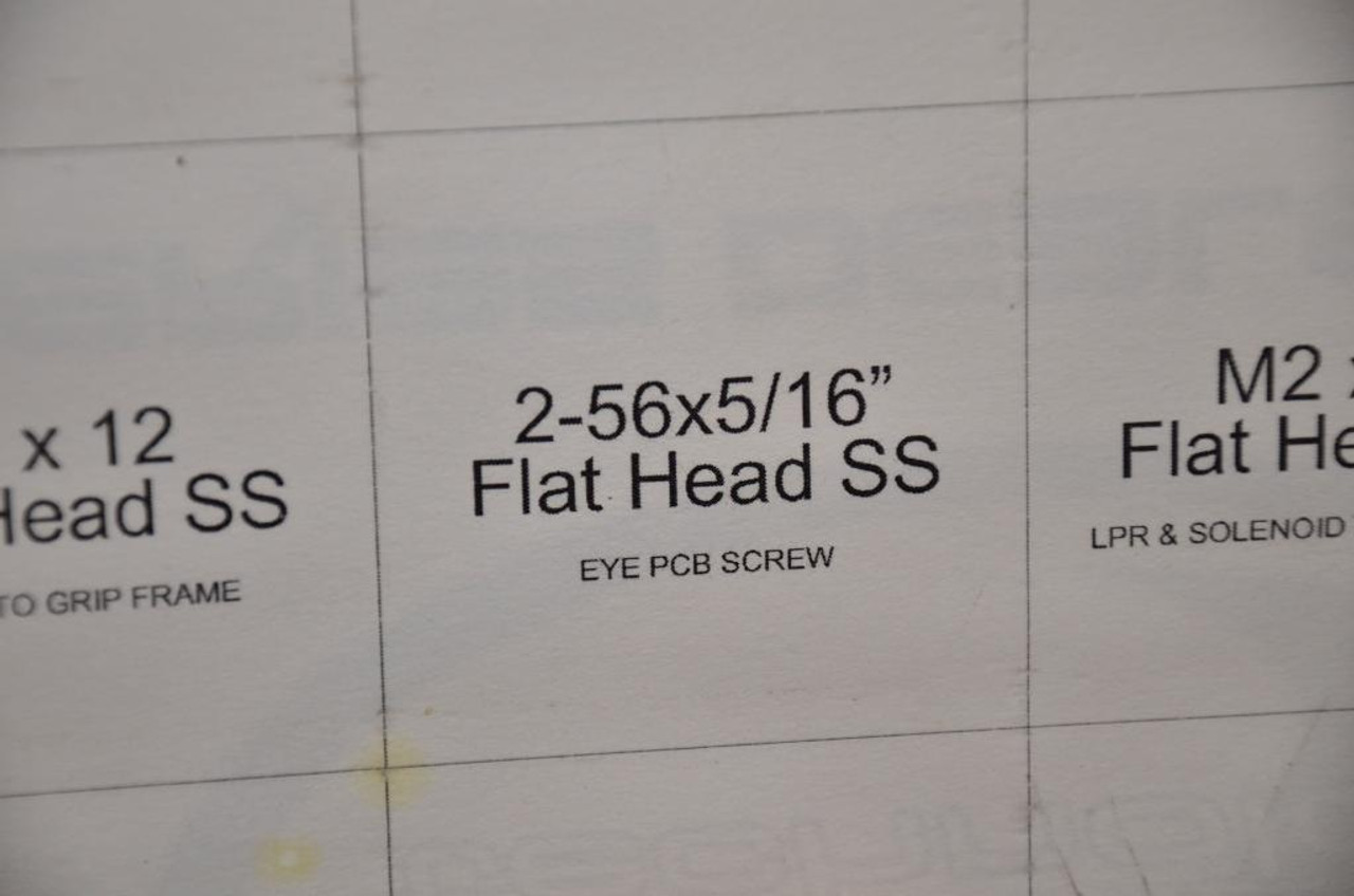 Bob Long Marq - Eye PCB Screw Pair