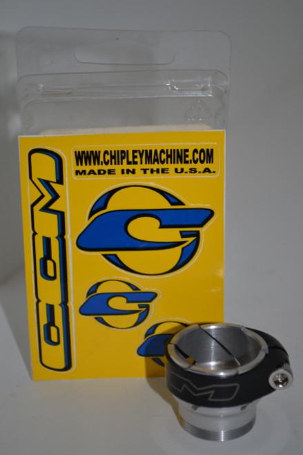 """CCM Dye Matrix """"No Pro"""" Feedneck - Gloss Silver"""