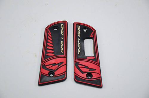 Bob Long Intimidator - 2k6 LCD Grips - Black / Red #2