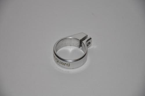Vanguard - Gloss Silver Engraved Feedneck Collar