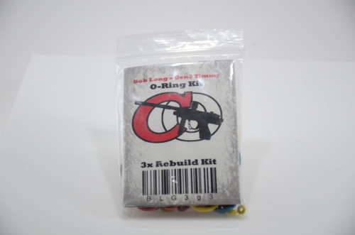 Bob Long Captain O-Ring 3x Rebuild Kit - Gen3 Intimidators