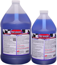 Pro Wash RX pH neutral car wash soap and shine enhancing shampoo for vehicles of all kinds.