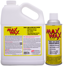 MaXWaX dry film corrosion preventive coating with VCI (vapor phase corrosion inhibitor) technology