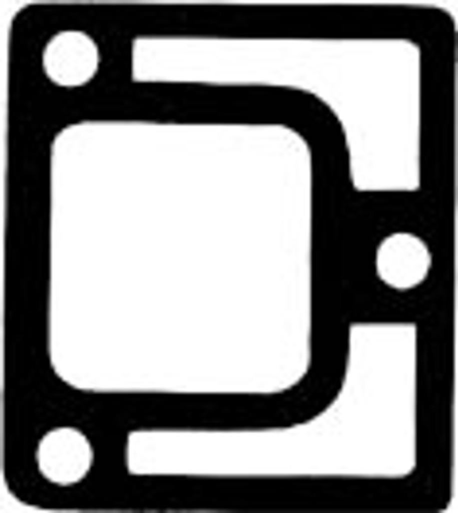 """C"" Pattern End Plate Gasket,1-0019"